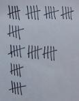 Hash marks