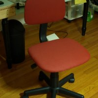 Desk chair makover
